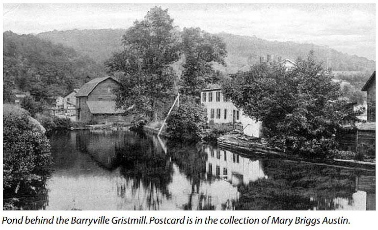 Barryville, NY Mill Pond Looking East